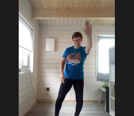 TikTok dance 1